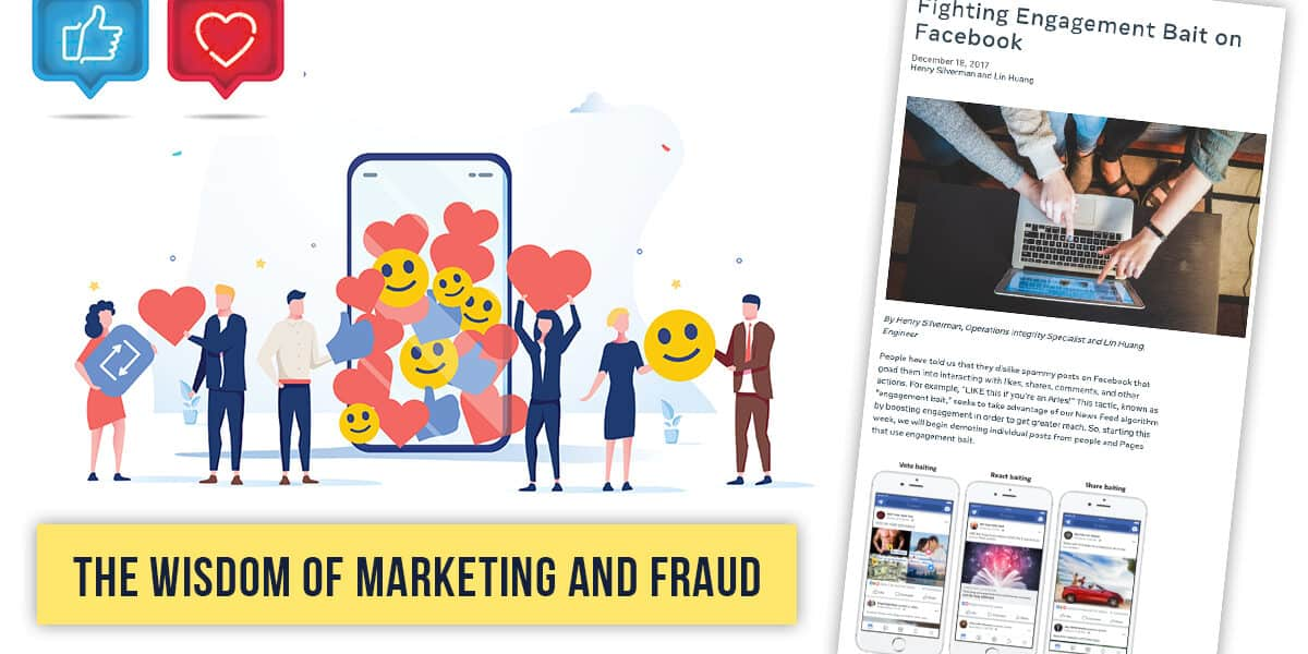 The Wisdom of Marketing and Fraud