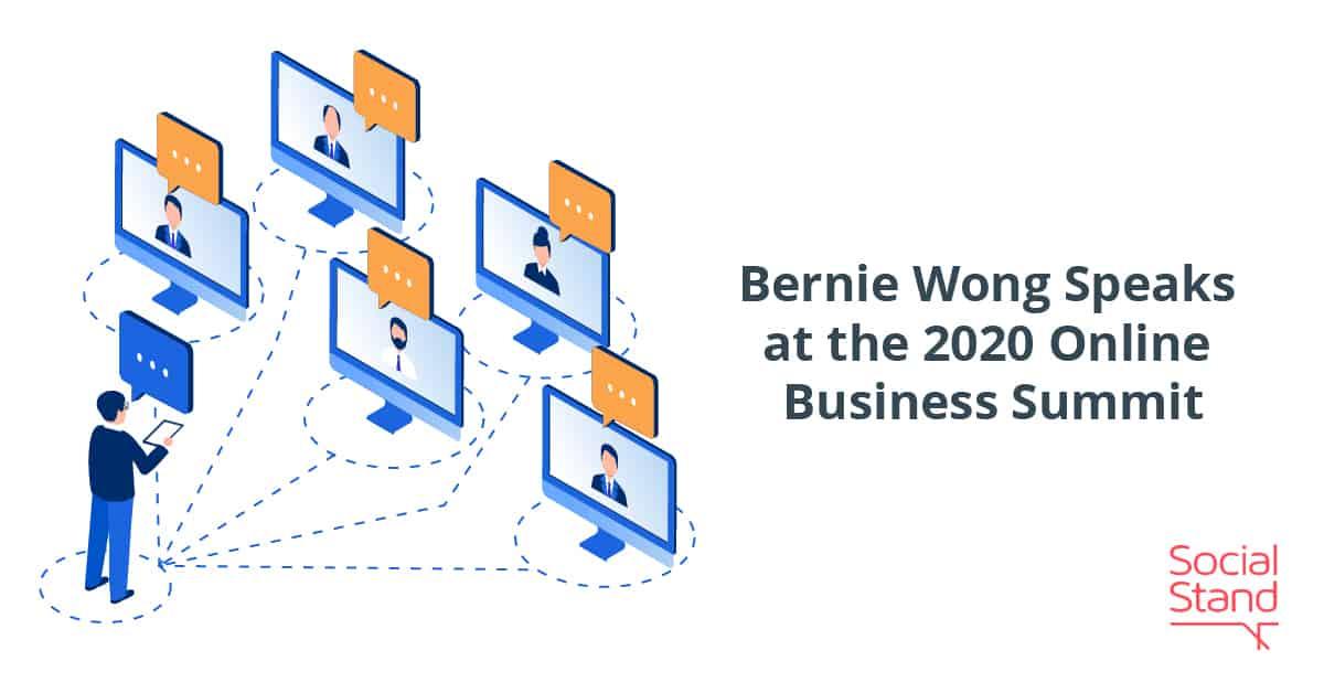 Bernie Wong Speaks at the Online Business Summit