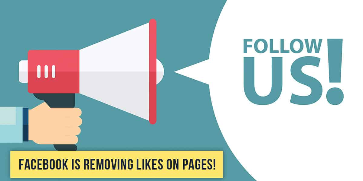 Facebook Is Removing Likes on Pages!